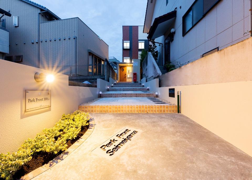 投資アパート ParkFront清明山1